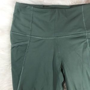 Victoria's Secret Pants - VSX Sport Knockout High Waist Khaki Leggings sz M